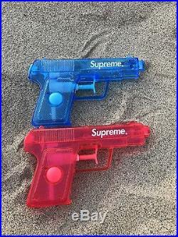 Supreme Water Gun Pistol box logo toy RARE japan blue red cash gun Money