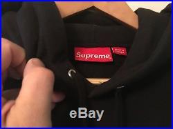 Supreme X Araki Rose Hooded Sweatshirt M Black Box Logo Medium Fw16 Hoodie Hoody