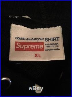 Supreme X Cdg Box Logo Hoodie XL