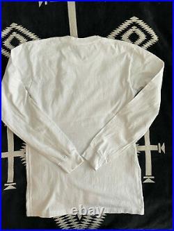 Supreme X Comme Des Garcon Long Sleeve Tee FW15 Medium CDG Rare Box Logo