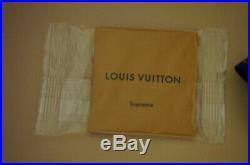 Supreme X LV Louis Vuitton Camouflage Monogram Box Logo Bogo Camp Cap Hat