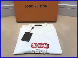 Supreme X Louis Vuitton Box Logo Monogram Tee 4l (xl/xxl) T Shirt LV Bogo