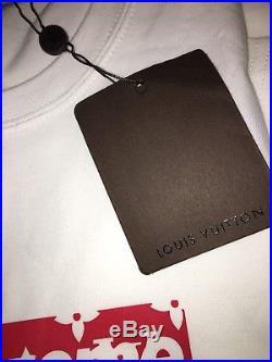 Supreme X Louis Vuitton Box Logo T-shirt LV Size M