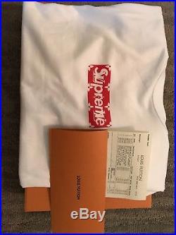 Supreme X Louis Vuitton Box Logo size 5L READY TO SHIP! 100% AUTHENTIC