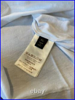 Supreme X Louis Vuitton Monogram Box Logo T-shirt Sz XL Authentic Tee