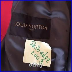 Supreme X Louis Vuitton Monogram Leather Jacket M DS 48 Rare Box Logo Original