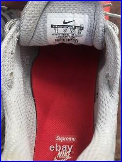 Supreme X Nike Air Max 98 Uk 11 Us 12 Box Logo Snakeskin Snake Silver Tn Force 1