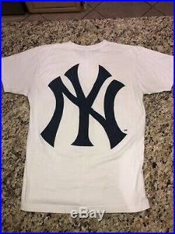 Supreme Yankees Box Logo White Size Large