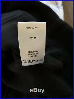 Supreme bandana box logo hoodie Black size L 100% AUTHENTIC