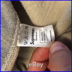 Supreme bling box logo hoodie grey Spring Summer 2013