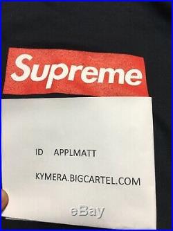 Supreme box logo 20th anniversary hoodie sweatshirt crewneck tshirt tee L navy