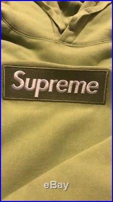 Supreme box logo Bogo hoodie sweater Sage Size Medium