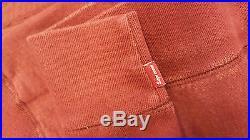 Supreme box logo hoodie Burgundy Size M 1000% Authentic