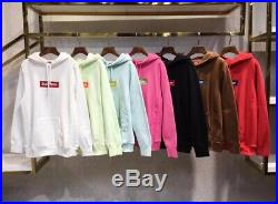 Supreme box logo hoodie (MORE COLORS) All Sizes Available
