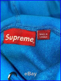 Supreme box logo hoodie medium