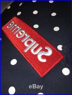 Supreme/cdg Box Logo Hoodie Blue