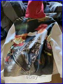 Supreme comme des garcons hoodie harold huner 2014 box logo