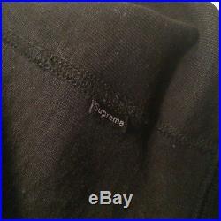 Supreme purple black box logo crewneck pullover hoodie Yeezy 350 Hypebeast Bogo