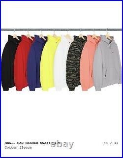 Supreme small Box Hooded Sweatshirt SS21 Bogo Box Logo Hoodie 2021 Sz Medium