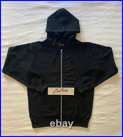 Supreme x ANTIHERO SS14 Black Zip-Up Sweatshirt L Box Logo Brand New In Bag