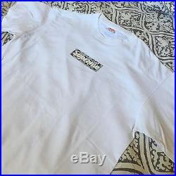 Supreme x Bape Grey Star Camo Box Logo Tee ss16 T-shirt Large
