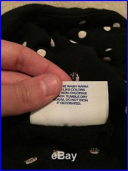 Supreme x CDG 1 Box Logo Hoodie / Sweatshirt 100% Authentic, Black Size Small
