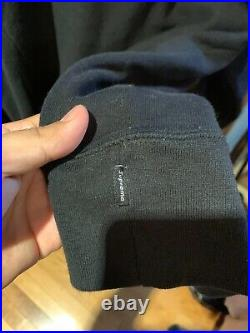 Supreme x Comme Des Garcons Box Logo Hoodie Black Size L