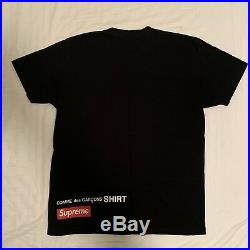 Supreme x Comme Des Garcons Harold Hunter Skate Box Logo Tee Shirt CDG