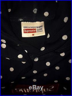 Supreme x Comme des Garçons Box Logo Hoodie