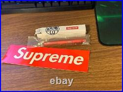 Supreme x Kaweco AL Sport Ballpoint Pen SS18 BOX LOGO RED Brand New Deadstock