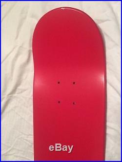 Supreme x Kermit Terry Richardson Box Logo Skateboard Deck Red
