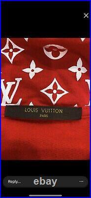 Supreme x Louis Vuitton Box Logo 100% Authentic