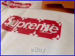 Supreme x Louis Vuitton Box Logo 100% Authentic bogo S Small