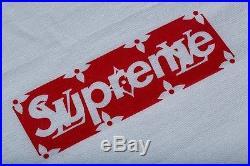 Supreme x Louis Vuitton Monogram Box Logo T-Shirt / Tee XS GUARANTEED