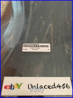 Supreme x Mendini Box Logo (Blue) Skate Deck SS16 100% authentic Art Rare Board