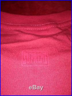 Supreme x Mike Tyson Photo Box Logo T shirt Size Large DSWT ULTRA RARE Japan