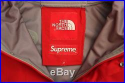 Supreme x North Face Expedition Pullover Jacket M Mountain Nuptse Box Logo Hoody