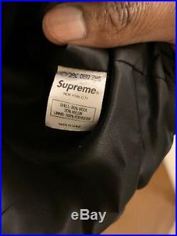 Supreme x Playboy Varsity Black 2011 sz XL 100% Authentic Yeezy Box Logo