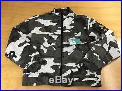 Supreme x Stone Island Snow Camo Nylon Windbreaker Jacket NWT M SS16 Box Logo