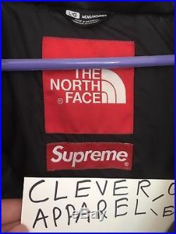 Supreme x TNF Fur Nuptse Size Large North Face Box Logo