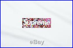 Supreme x Takashi Murakami Relief Box Logo Tee Medium M Confirmed