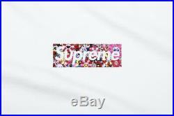 Supreme x Takashi Murakami Relief Box Logo Tee Size Medium (Confirmed Order)