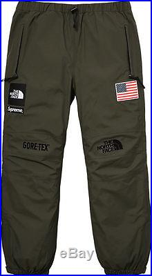 Supreme x The North Face Trans Antarctic Expedition Pant Olive M box logo S/S 17