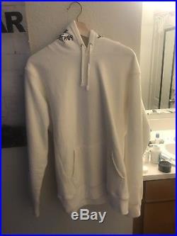 Supreme x Thrasher white hoodie size L box logo
