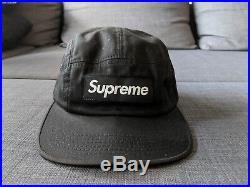 Supreme x Visvim Box Logo Camp Cap Black