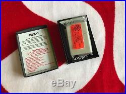 Supreme x Zippo White Red Box Logo Lighter NEW FW 12