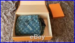 Supreme x louis vuitton monogram denim jeans 32, LV, BOX LOGO, BOGO, IN HAND