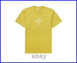 Suprme Cross Box Logo Tee (L)/ Stickers Included