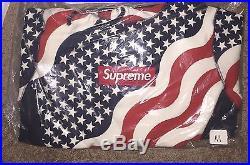 Surpeme American Flag Box Logo Hoodie (DEADSTOCK) BOGO Medium