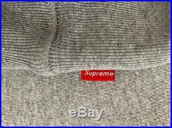 UA Supreme Bandana Box Logo Hoodie Grey XLarge